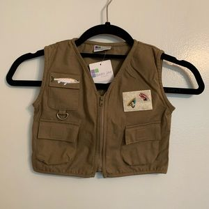 Child's Fly Fishing Vest